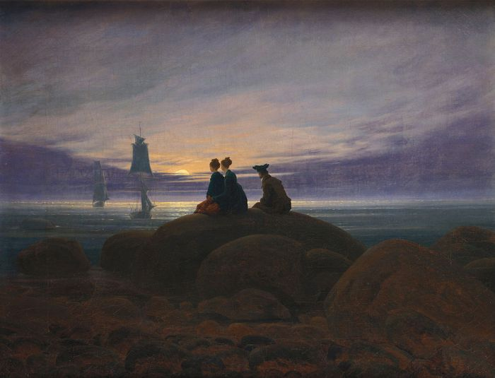1004px-Caspar_David_Friedrich_-_Mondaufgang_am_Meer_-_Google_Art_Project