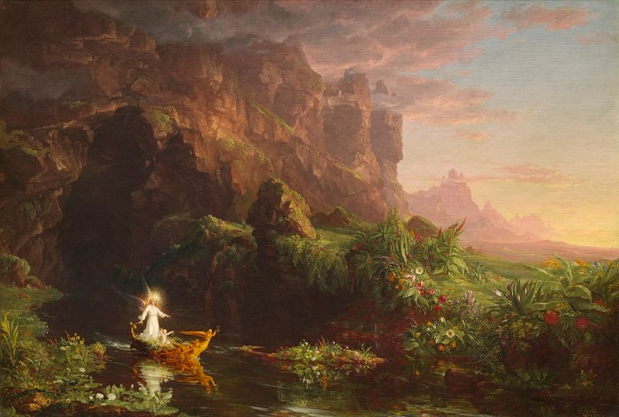 1024px-Thomas_Cole_-_The_Voyage_of_Life_Childhood,_1842_(National_Gallery_of_Art)