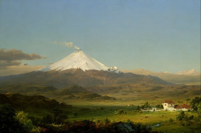 Cotopaxi (1855) by Frederic Edwin Church