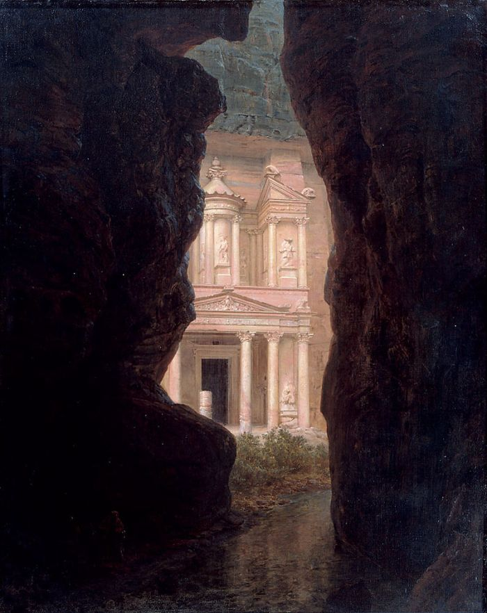 El Khasne Petra (1874) by Frederic Edwin Church
