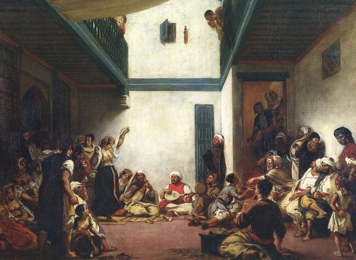 Jewish Wedding in Morocco (1839) by Eugène Delacroix