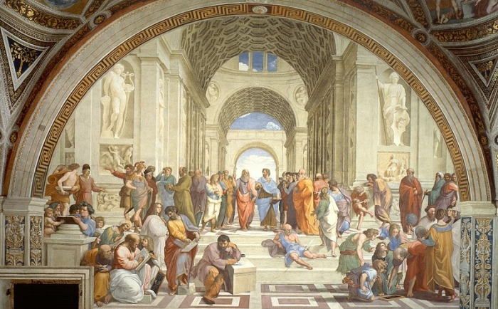 The School of Athens by Raphael | The Importance of Good Taste by Balissande Finishing School