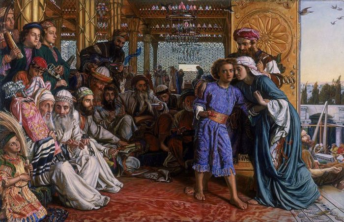 William Holman Hunt, The Finding of the Savior in the Temple, 1860