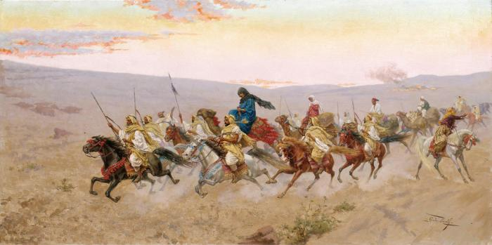 Giulio Rosati, A Successful Raid, 1858–1917