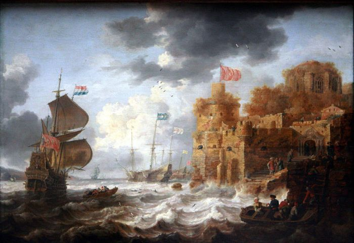 Bonaventura Peeter, A Port in the Orient (between 1650 and 1652)