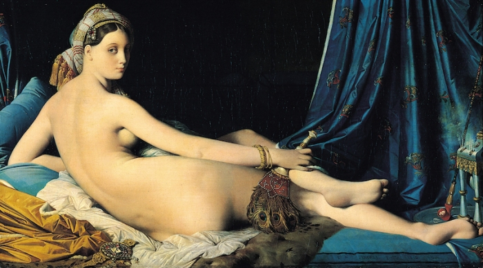 Jean-Auguste-Dominique Ingres, The Grand Odalisque, 1814