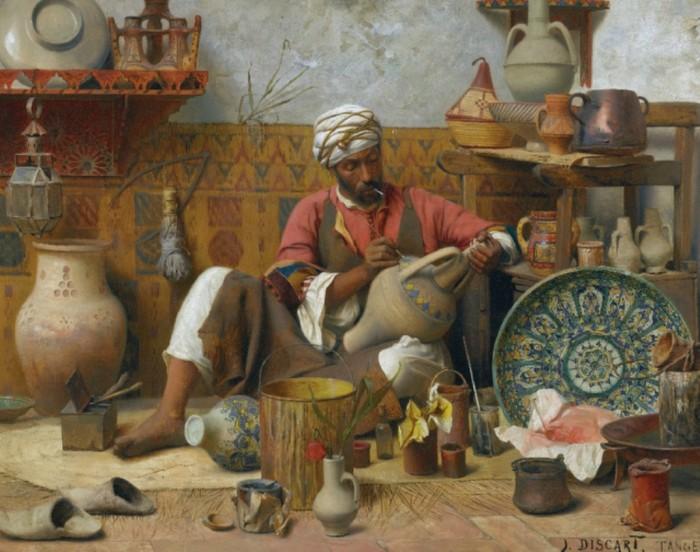 Jean Discart, L'Atelier de Poterie, Tanger