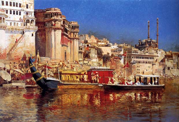 Barge of the Maharaja Of Benares by Edwin Lord Weeks (1883)