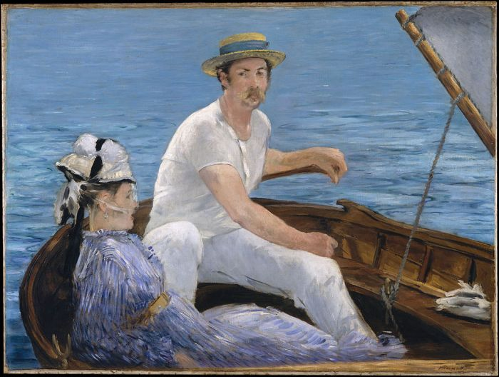 Boating by Édouard Manet (1874)