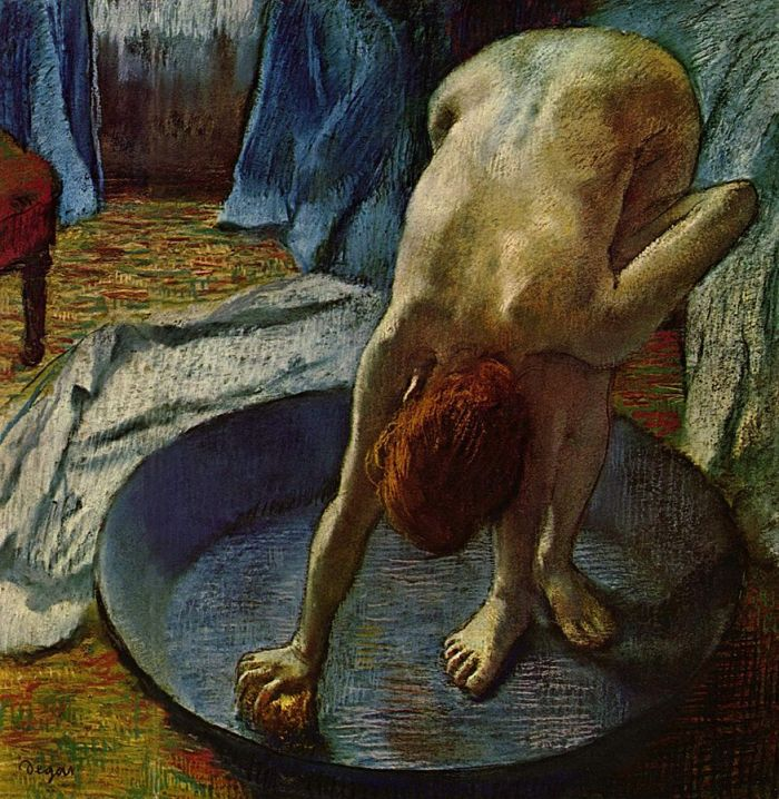 Edgar Degas, Woman in the Bath, 1886,