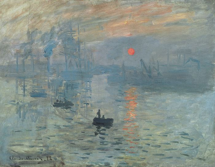 Claude Monet, Impression, soleil levant (Impression, Sunrise), 1872,