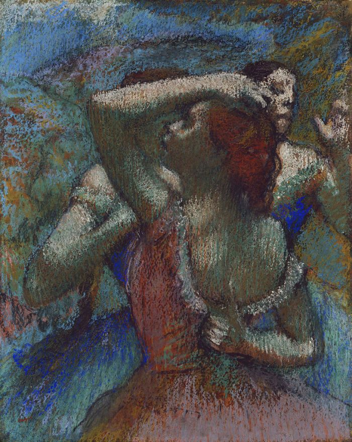 Dancers by Edgar Degas (1900)