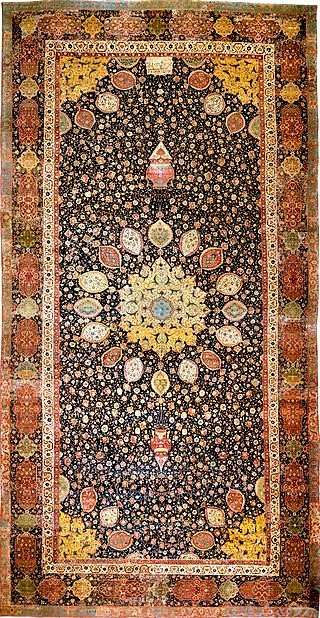 Ardabil Carpet at the Victoria & Albert Museum