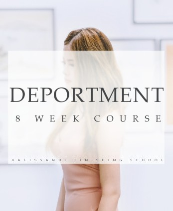 deportment course by balissande finishing school